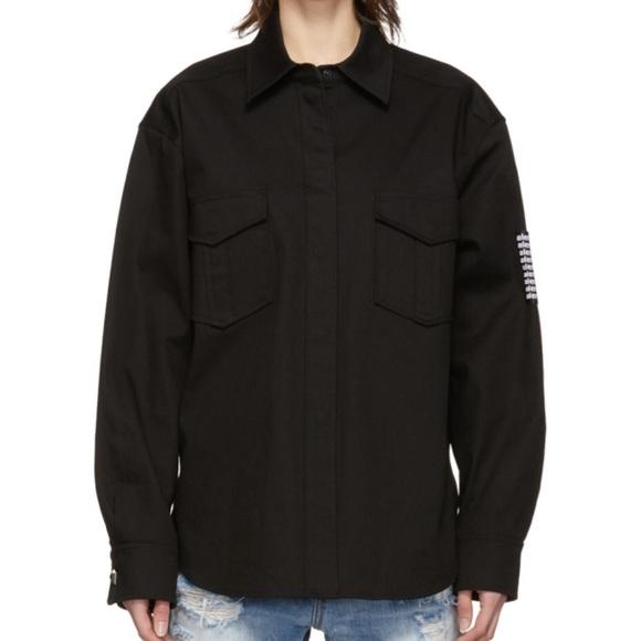Alexander Wang Tops - Alexander Wang Classic Black shirt stud buttons
